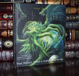 Details about Cthulhu Mythos Fantasy Horror H P  Lovecraft New Illustrated  Deluxe Hardcover