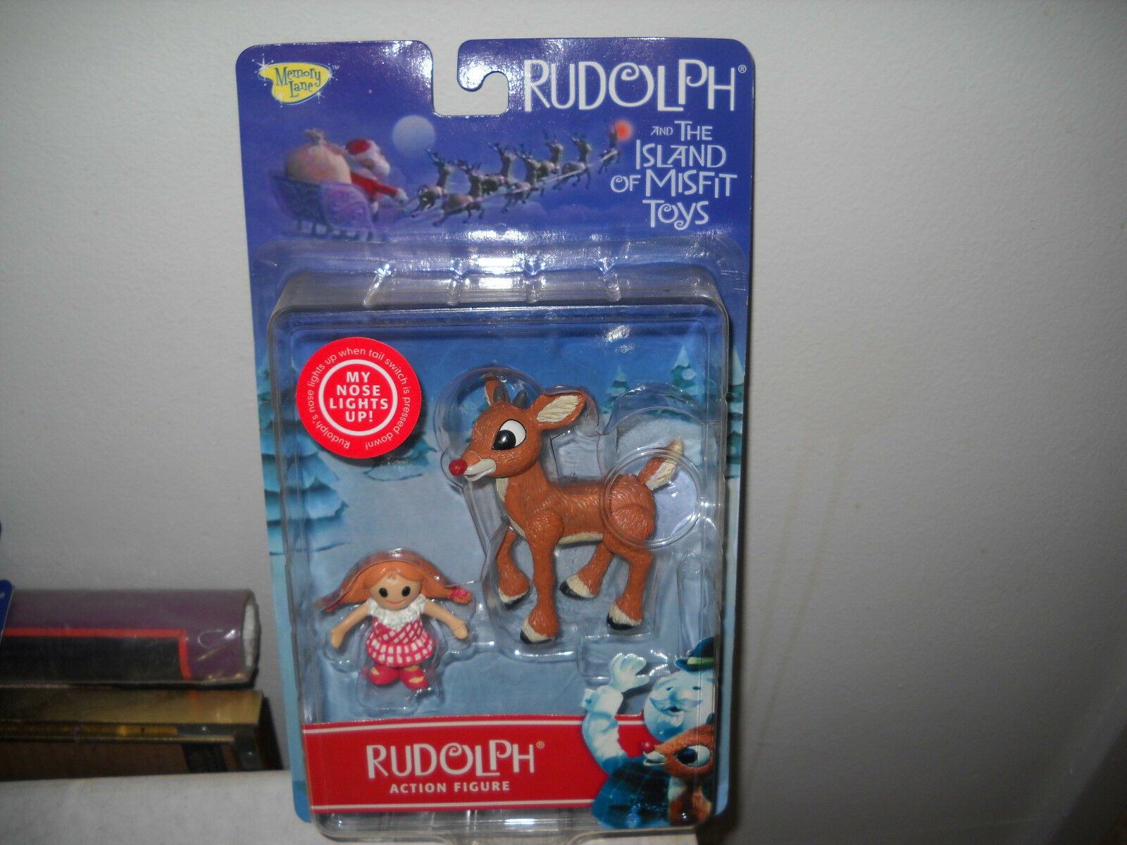 2000 Rudolph Rudolph Rudolph and the Island of Misfit Toys-Rudolph f0300e