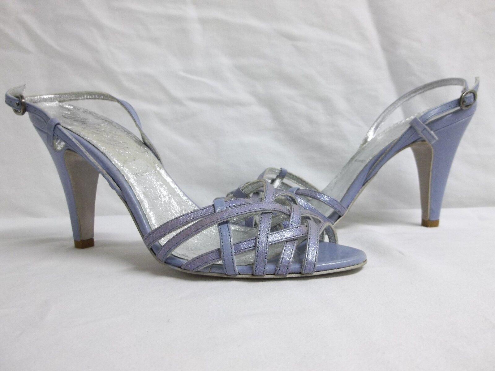 Miss Sixty EU 39 Us Toe 8.5 M Ball Bark Pelle Open Toe Us Heels New Donna Shoes NWOB 4c3cb3