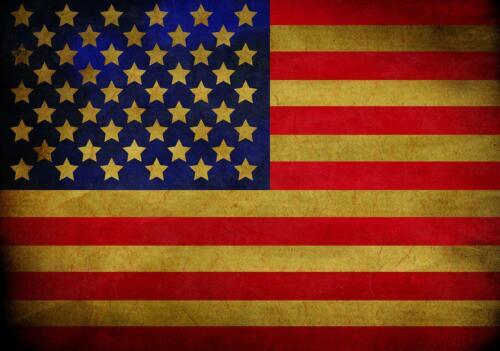 FOTOTAPETE Tapete WANDBILDER XXL 15F0161440 Flagge der USA Weltkarten Reisen un