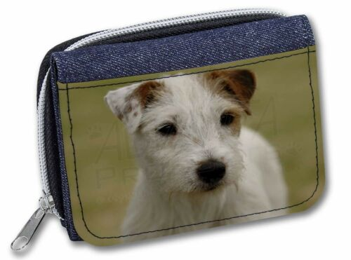 Parson Russell Terrier Dog GirlsLadies Denim Purse Wallet Christmas , ADPRT1JW