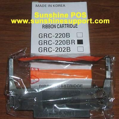 1 RIBBON FOR BIXOLON PR10144 SRP275 SRP275II Black and Red POS Ribbon