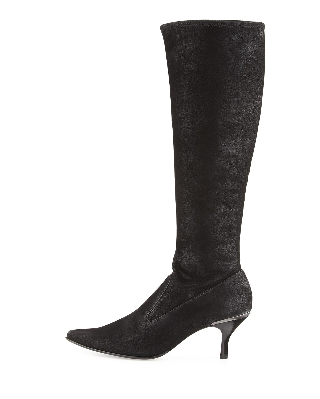 Nuevo tramo Donald J Pliner Negro Nubuck botas Tacones Zapatos Zapatos Zapatos Talla 6  minoristas en línea