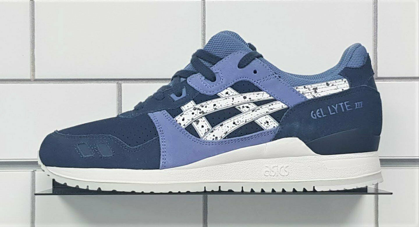 Asics Gel-Lyte III Sneakers, Indian Ink   White