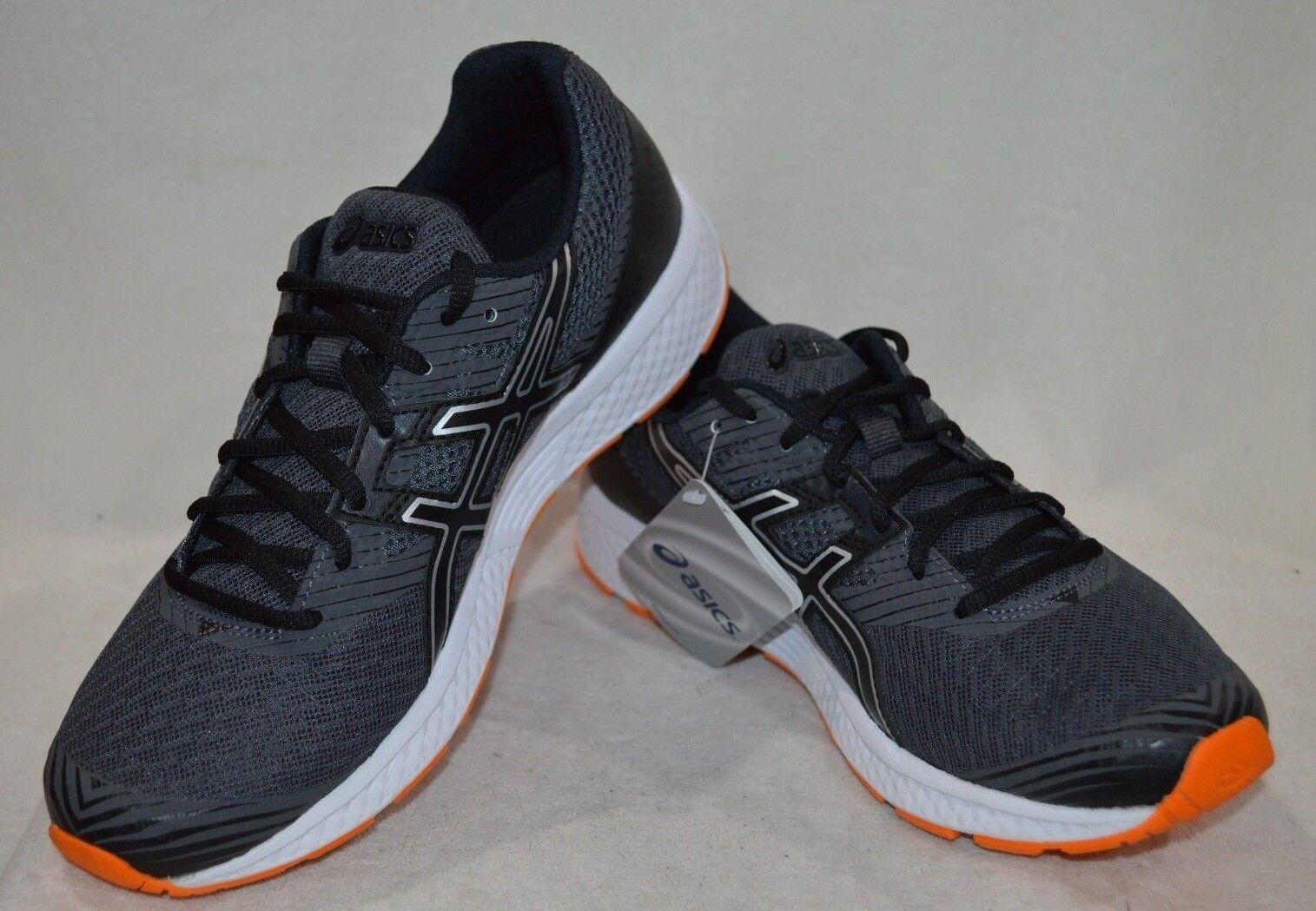 Le gel-1 grigio scuro / nero nero / / orange uomini scarpe da corsa t71aq misura 8,5 / 9 / 10,5 nwb 87482d
