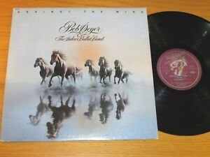 "80s ROCK LP - BOB SEGER - CAPITOL 12041 - ""AGAINST THE WIND"""
