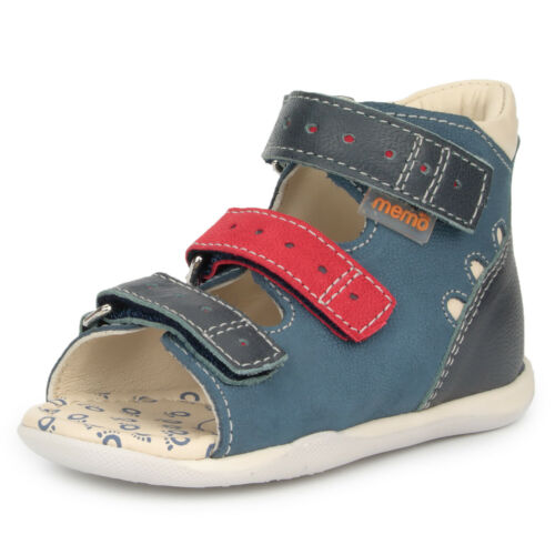Memo DINO Baby Boys/' First Walker Orthopedic Ankle Support Sandals Toddler