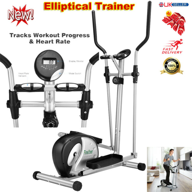 Magnetic Elliptical Cross Trainer Exercise Bike Cardio