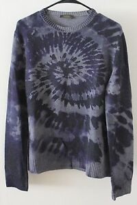 Wool Crew Sweater Valentino Cashmere Is Neck Loading Tie Image Dye 1ztWOqa