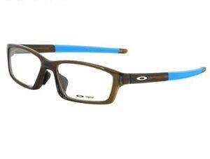 Oakley-RX-Eyeglasses-OX8041-1656-Crosslink-Pitch-Asian-Fit-Bark-Frame-56-17-135