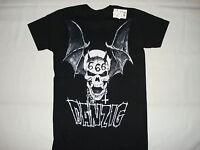 Danzig 666 Skull Black T-shirt S M L Xl 2xl Metal Punk Rock Wings Misfits