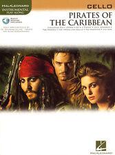 Pirates of the Caribbean Play-Along Cello Violoncello Noten mit Download Code