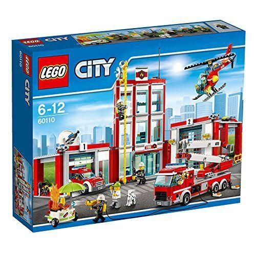 Lego 60110. Estación de Bomberos