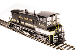 Broadway Limited 5457, HO, EMD SW1500, Southern Paragon3 Sound & DCC