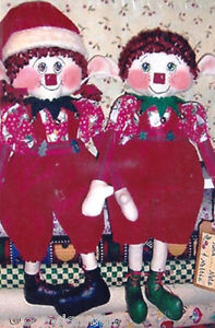 One-of-the-Flock-034-The-Elfin-Kind-034-177-Pattern-for-19-034-Elf-Dolls-New-2005