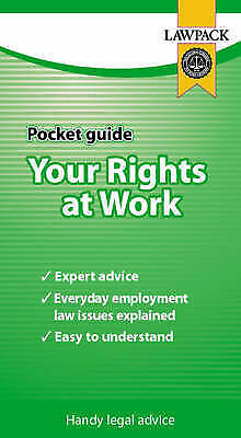 """""""AS NEW"""" Your Rights at Work Pocket Guide, Slocombe, Melanie, Book"""