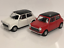 thumbnail 1 - Mini-Cooper-1300-Cream-and-Red-1-32-Scale-Pull-Back-Go-Welly-49720