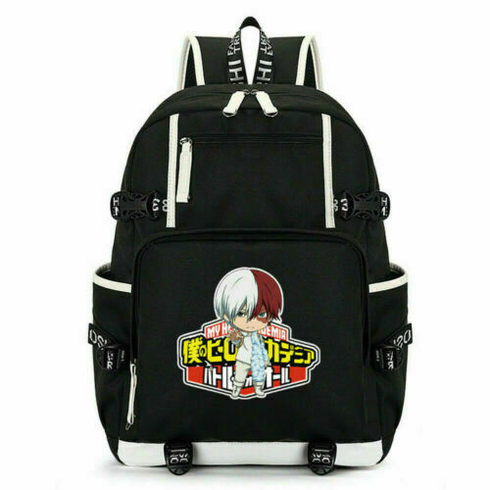 My Hero Academia Laptop Backpack Travel Bags Cosplay Leisure Bags