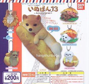 Inupan Doggy Bread 13 Papillon Terrier Shiba Inu Poodle Pekingese 5 Pcs Set