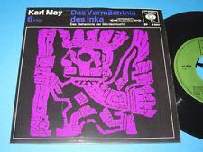 "Karl May: Das Vermächtnis des Inka - Folge 6 (CBS EP S 0097) Hörspiel - 7"""