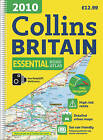 2010 Collins Essential Road Atlas Britain by HarperCollins Publishers (Spiral bound, 2009)