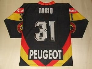 Maillot-T-Shirt-Ice-Hockey-Glace-Sport-Sc-Bern-Tosio-31-Taille-S