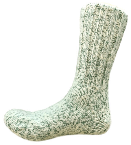 Dachstein Woolwear Austrian 100/% Boil Wool Gray 4 Ply Extreme Warm Calf Sock