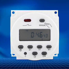 Cn101a 24v 220v Lcd Digital Weekly Programmable Power Timer Time Relay Switch