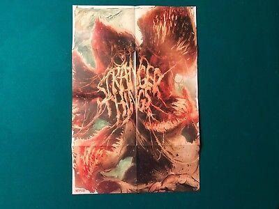 Stranger Things Demogorgon Official Poster 18 X 12 Art Mondo Season 1 2 One Two