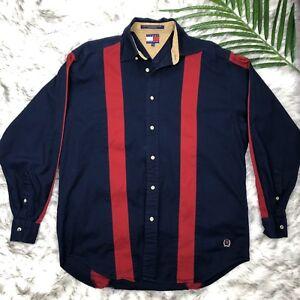 426c96bf Tommy Hilfiger Vintage Long Sleeve Button Down Shirt Vintage Men's S ...