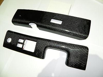Carbon Fensterheber Schalter Umrandung Power Window passend für Nissan 370Z Z34