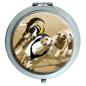 Greyhound-Racing-Compact-Mirror
