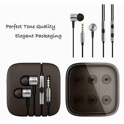 Xiaomi 2nd Piston Earphones 3.5mm Earbuds In-Ear & Mic Wire Control Silver TS