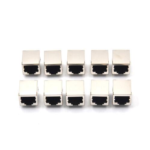 10Pcs RJ45 Network Ethernet 8P8C Female Socket Connector 8Pin PCB Mount TE