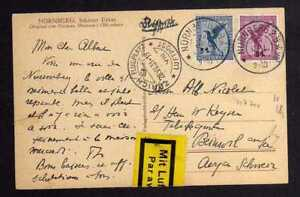 117701 AK poste aerienne Nuremberg-Zurich aéroport 1931 BELLE travée-afficher le titre d`origine rFtvYFh7-07142926-636447839