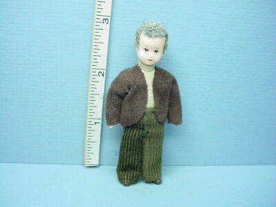 "Miniature Adult Male /""Doc Wendelin/"" Dollhouse Doll 10828 Handcrafted Erna Meyer"
