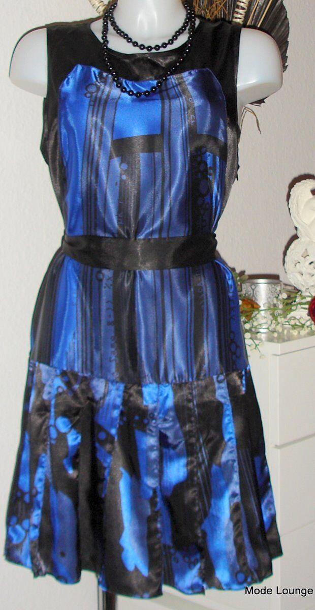 Nts Not The Same - Vestito Tunica blue Ota 42, XL, blue Nuovo