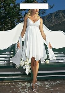 """APART"" Brautkleid Standesamt Abendkleid Kleid creme ..."