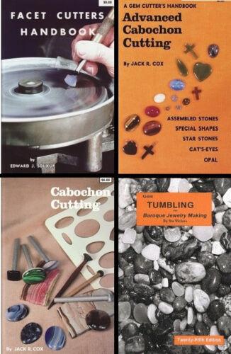 GEM CABOCHON FACET CUTTING TUMBLE Tumbling Grinding Cabbing ROCK Books CHOOSE
