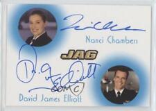 JAG 2006 DAVID JAMES ELLIOTT COMMANDER HARMON RABB JR CHASE INSERT CARD #DJE1