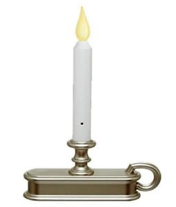 Window-Candle-with-Light-Sensor-Orange-Flame-Pewter-Base-FPC1225P