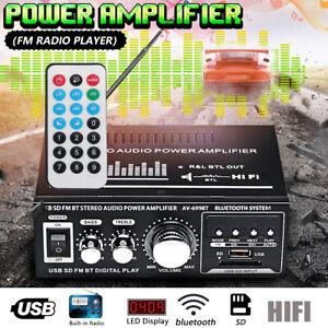 360W-110V-12V-HIFI-Audio-Stereo-bluetooth-FM-2CH-AMP-Car-Home-USB-SD-MP3-US