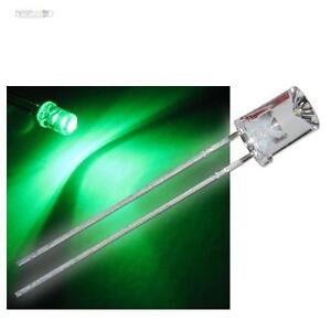 10-x-LED-5mm-concave-gruen-Leuchtdioden-superhell-gruene-konkav-LEDs