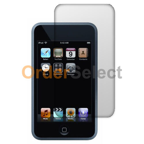3X Clear HD LCD Screen Protector for Apple iPod Touch 2 3 2nd 3rd Gen 100+SOLD