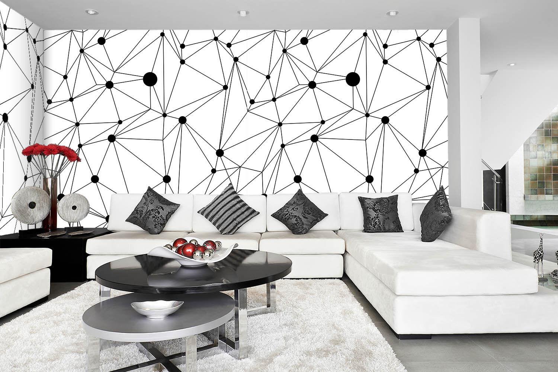 3D Lines Painted 774 Wallpaper Mural Paper Wall Print Wallpaper Murals UK