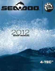 sea doo pwc 2012 2013 4tec gti gtx gtr gts rxp rxt wake service rh ebay com 2004 Sea-Doo RXP Manual 2014 Sea-Doo RXP -X 260