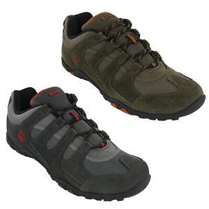 Hi-Tec Mens Walking Trainers Quadra II Classic Hiking Outdoor Shoes UK7-12