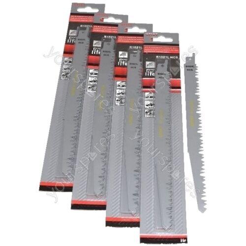 Reciprocating Sabre Saw Blades R1021L  240mm Long High Carbon Steel HCS 20 Pack
