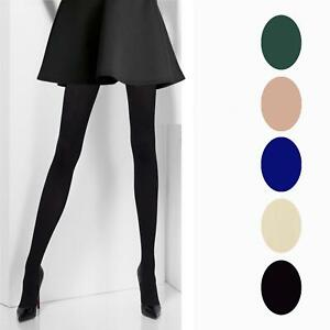 f6b51c0cd9ee0 4 PAIRS OF GIRLS CHILDREN ULTRA SOFT 40 DENIER OPAQUE TIGHTS BACK TO ...