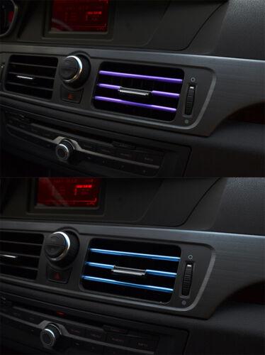 Car-styling Car inside Accessories Air Vent Outlet decoration Strip Moulding SUN
